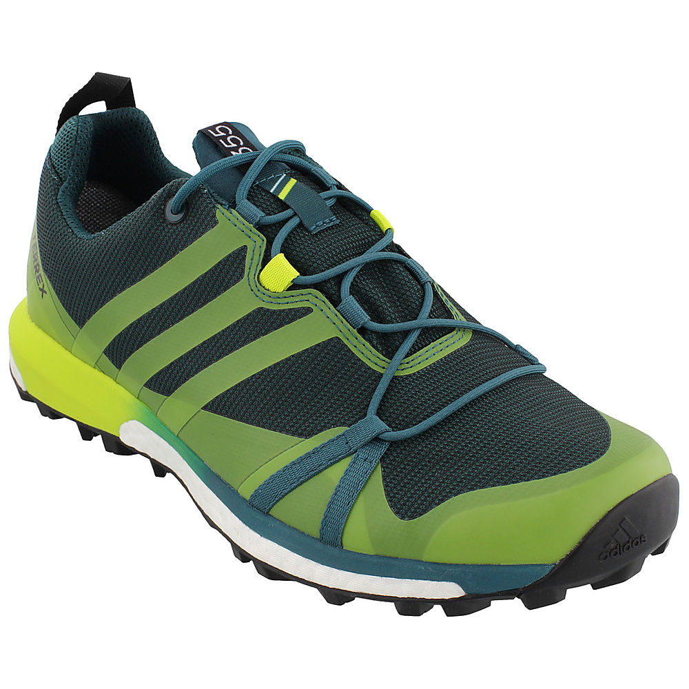 adidas outdoor Mens Terrex Agravic GTX Shoe 11 - Mystery Green/Semi Solar Yellow/Black - adidas outdoor Mens Footwear - Apparel & Footwear, Men's Footwear