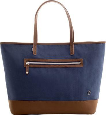 Vessel Refined Tote Navy - Vessel Fabric Handbags