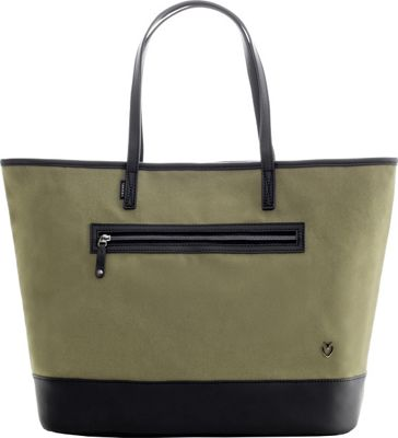 Vessel Refined Tote Olive - Vessel Fabric Handbags