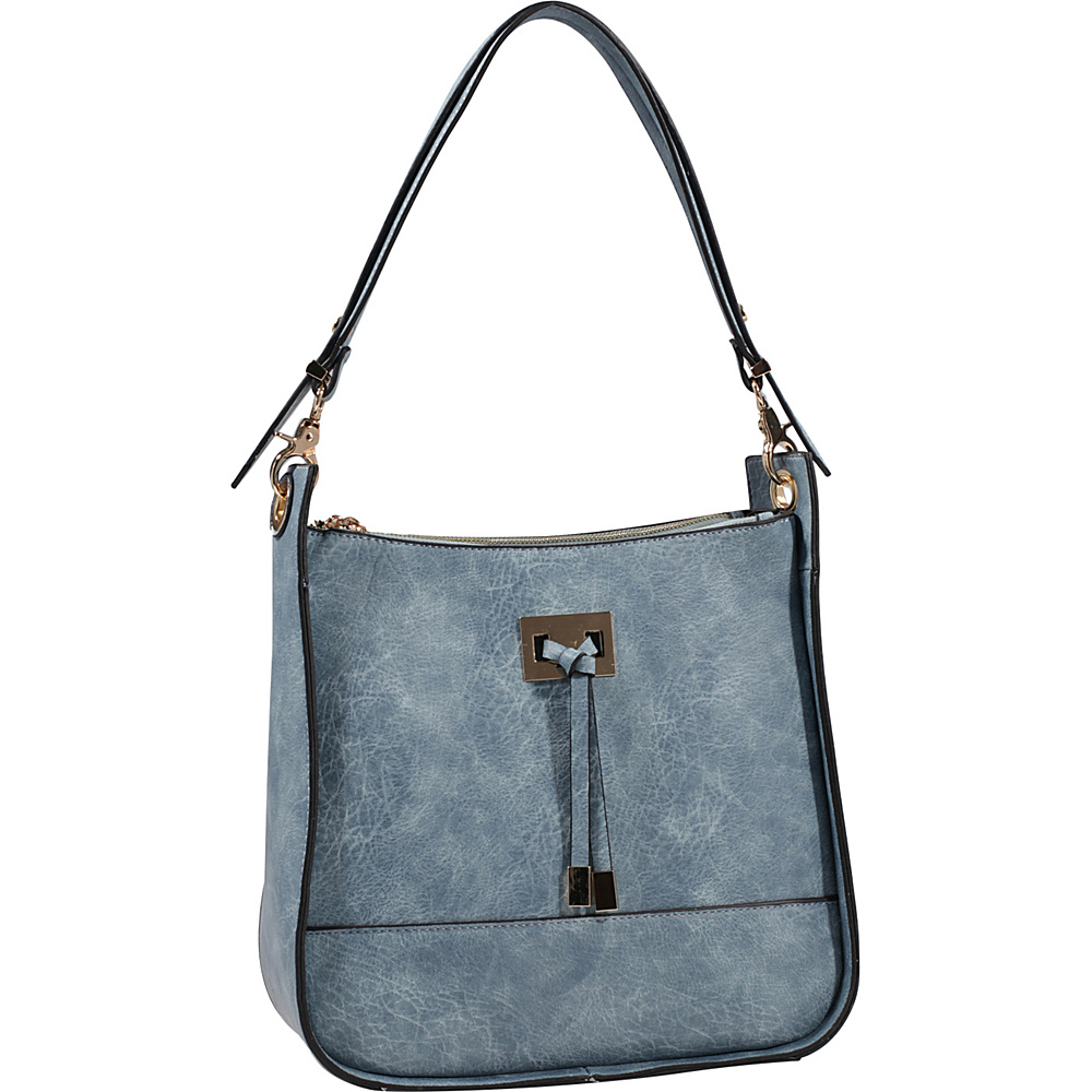 MKF Collection by Mia K. Farrow Xena Shoulder Bag Blue - MKF Collection by Mia K. Farrow Manmade Handbags - Handbags, Manmade Handbags