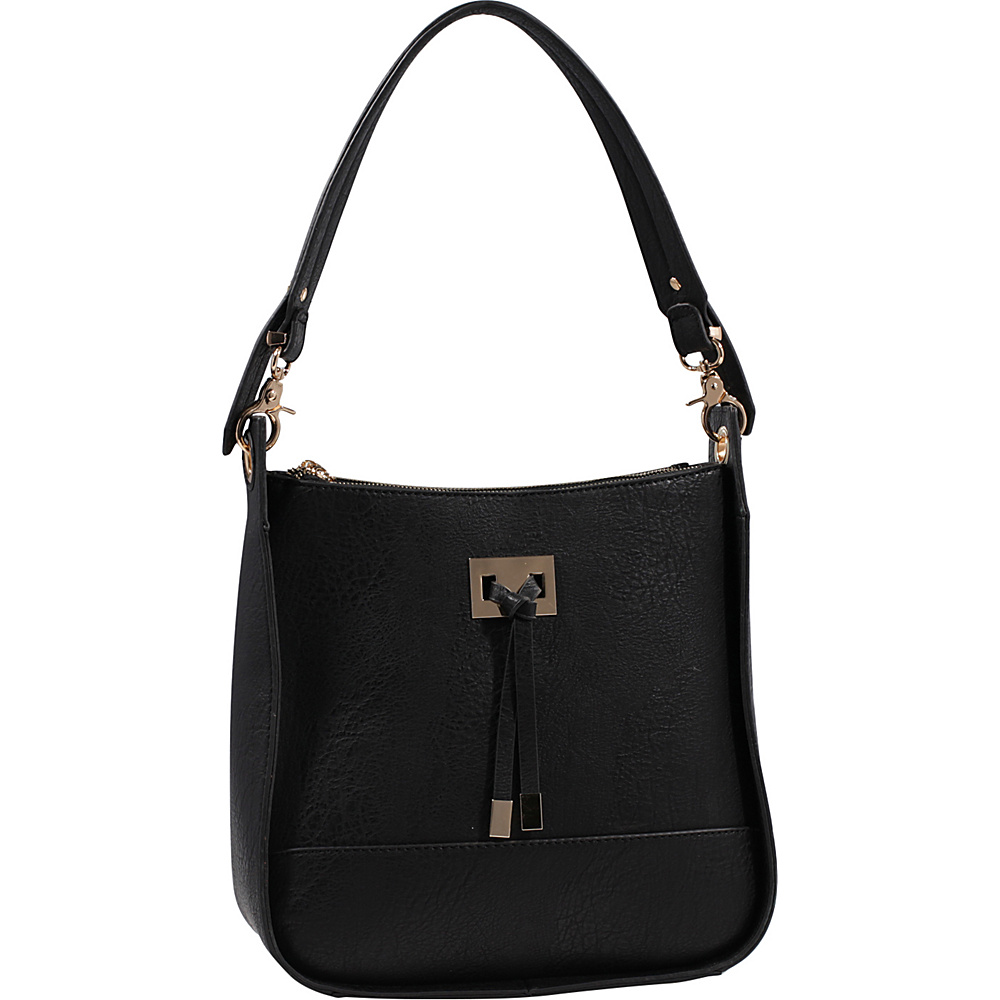 MKF Collection by Mia K. Farrow Xena Shoulder Bag Black - MKF Collection by Mia K. Farrow Manmade Handbags - Handbags, Manmade Handbags