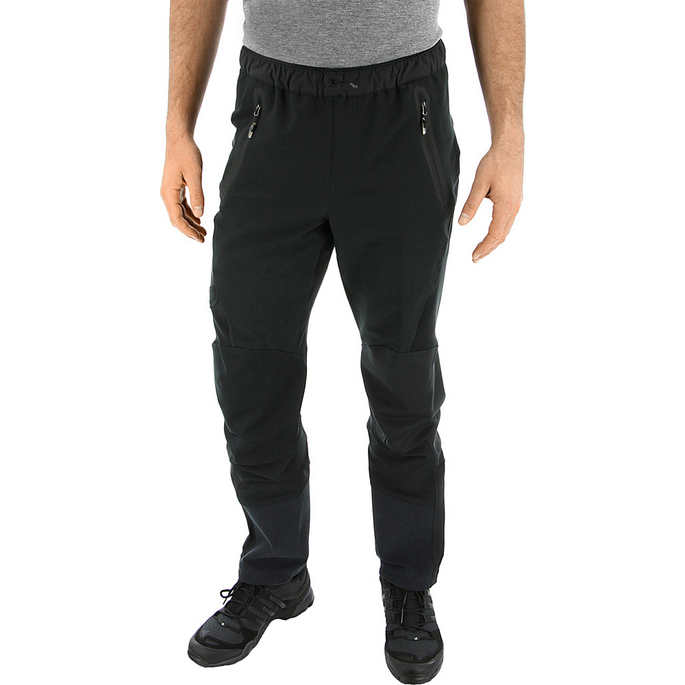 adidas outdoor Mens Terrex SkyClimb Pant 30 - Black/Black - adidas outdoor Mens Apparel - Apparel & Footwear, Men's Apparel