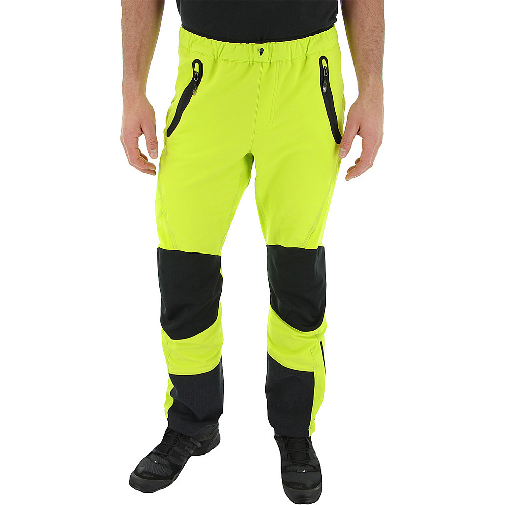 adidas outdoor Mens Terrex SkyClimb Pant 30 - Semi Solar Yellow - adidas outdoor Mens Apparel - Apparel & Footwear, Men's Apparel