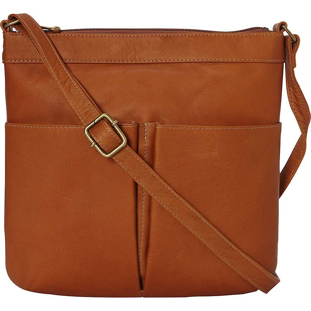 Le Donne Leather Ambrose Crossbody Tan - Le Donne Leather Leather Handbags - Handbags, Leather Handbags