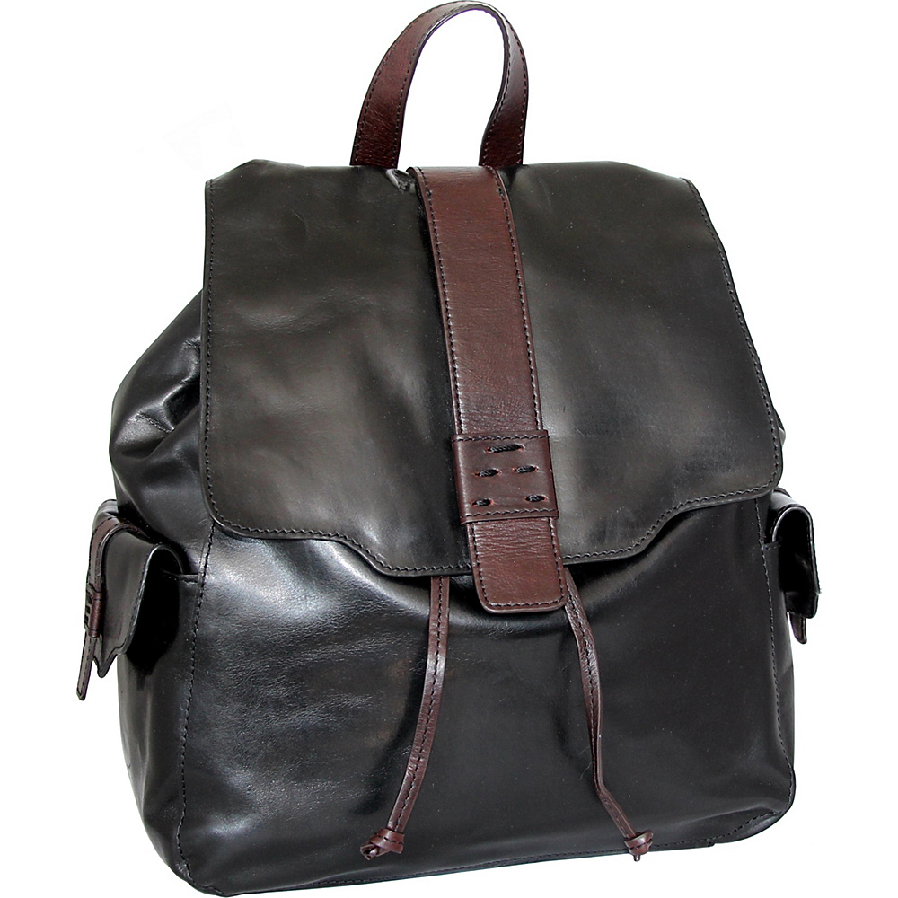 Nino Bossi Breanna Backpack Black - Nino Bossi Leather Handbags - Handbags, Leather Handbags