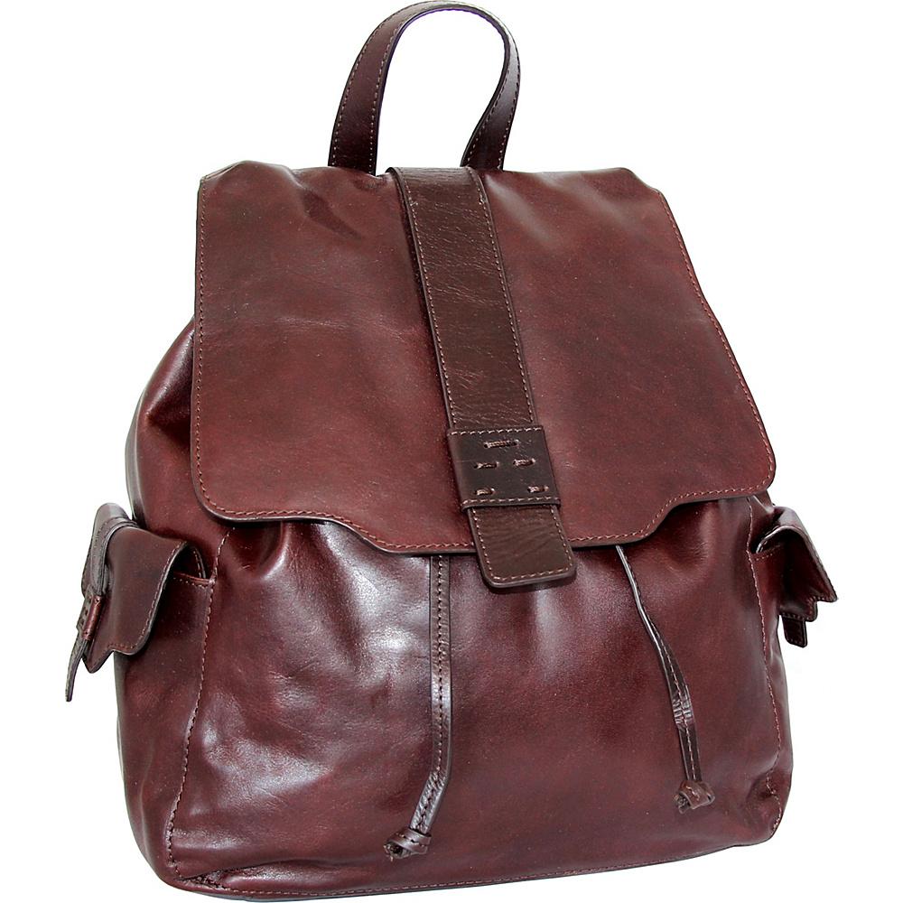 Nino Bossi Breanna Backpack Chestnut - Nino Bossi Leather Handbags - Handbags, Leather Handbags
