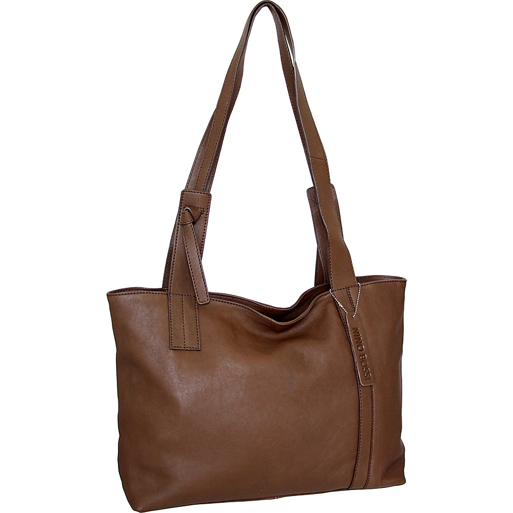 Nino Bossi Isa Tote Brown - Nino Bossi Leather Handbags - Handbags, Leather Handbags