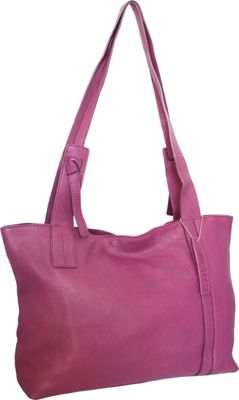 Nino Bossi Isa Tote Plum - Nino Bossi Leather Handbags