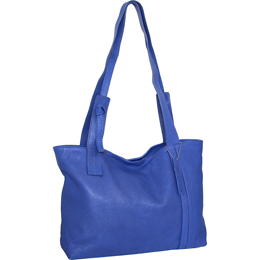 Nino Bossi Isa Tote Cobalt - Nino Bossi Leather Handbags - Handbags, Leather Handbags