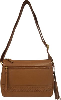 Great American Leatherworks Braid and Tassel Crossbody Luggage - Great American Leatherworks Leather Handbags