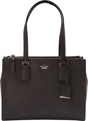 kate spade new york Cameron Street Small Jensen Shoulder Bag Black - kate spade new york Designer Handbags