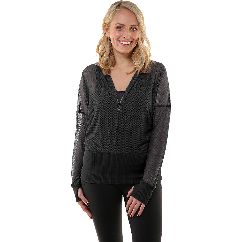 Soybu Gossomer Pullover S - Black - Soybu Womens Apparel - Apparel & Footwear, Women's Apparel