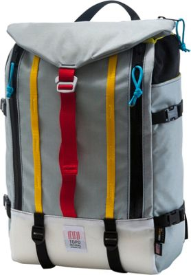Topo Designs Mountain Pack Laptop Backpack Silver - Topo Designs Laptop Backpacks