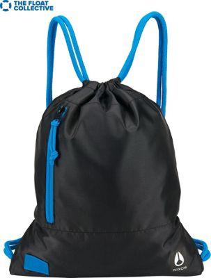 Nixon Everyday Cinch Bag Black / Blue / Float - Nixon Everyday Backpacks