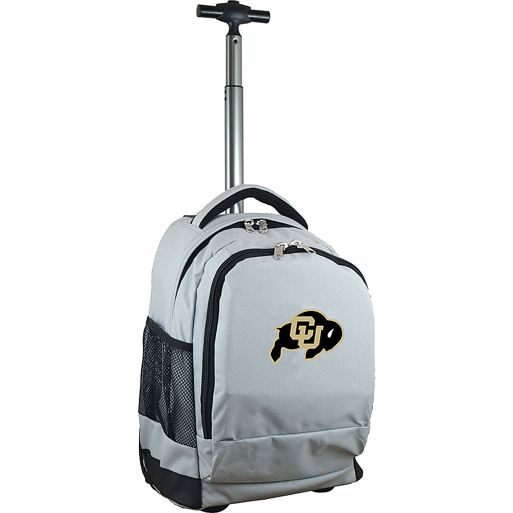 MOJO Denco College NCAA Premium Laptop Rolling Backpack Colorado - MOJO Denco Rolling Backpacks - Backpacks, Rolling Backpacks