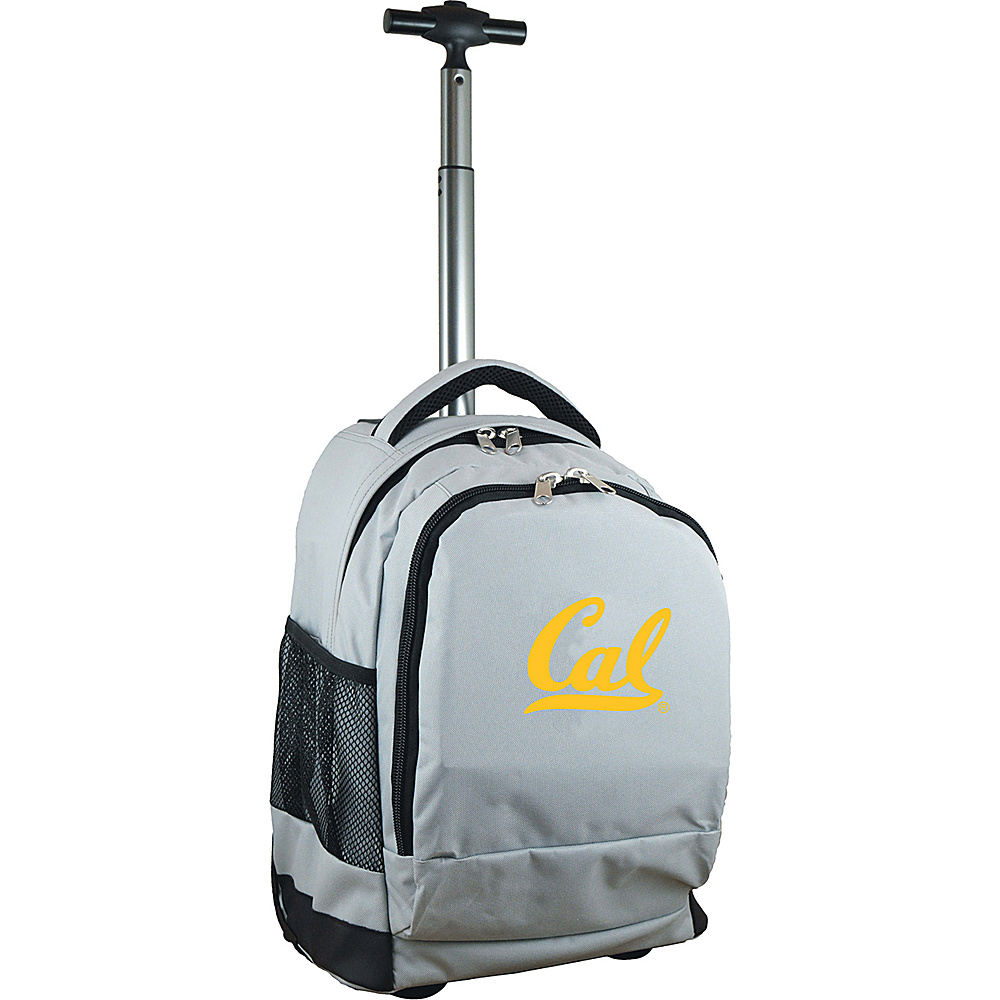 MOJO Denco College NCAA Premium Laptop Rolling Backpack Berkeley - MOJO Denco Rolling Backpacks - Backpacks, Rolling Backpacks