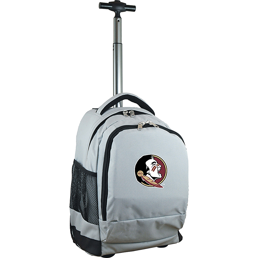 MOJO Denco College NCAA Premium Laptop Rolling Backpack Florida State - MOJO Denco Rolling Backpacks - Backpacks, Rolling Backpacks