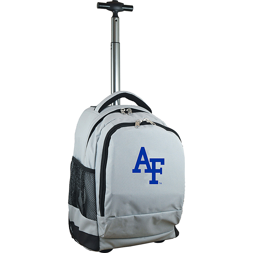 MOJO Denco College NCAA Premium Laptop Rolling Backpack US Airforce Academy - MOJO Denco Rolling Backpacks - Backpacks, Rolling Backpacks
