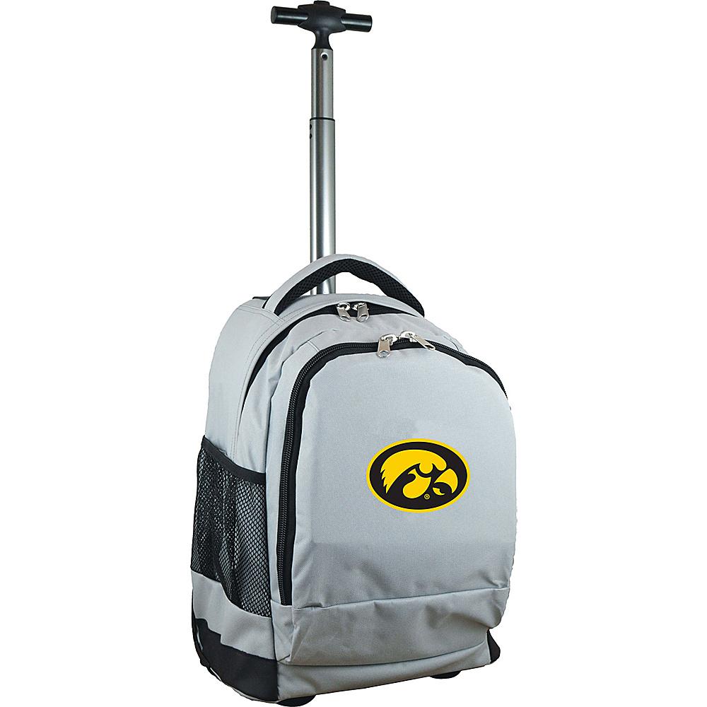 MOJO Denco College NCAA Premium Laptop Rolling Backpack Iowa - MOJO Denco Rolling Backpacks - Backpacks, Rolling Backpacks