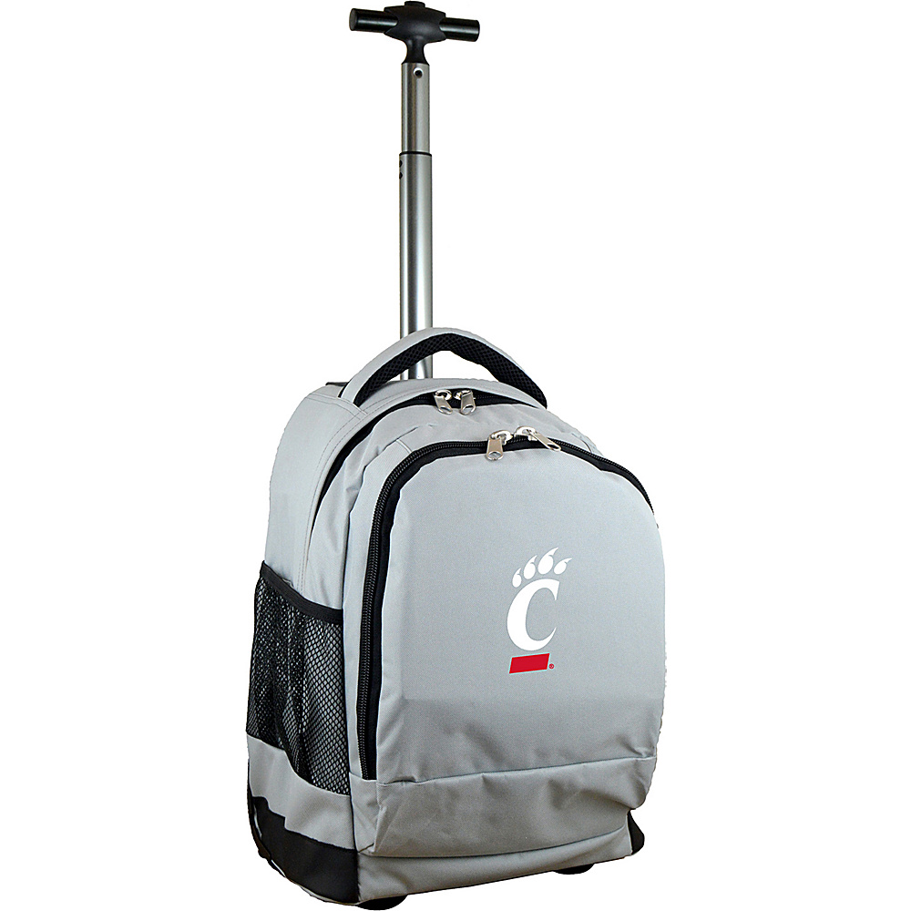 MOJO Denco College NCAA Premium Laptop Rolling Backpack Cincinnati - MOJO Denco Rolling Backpacks - Backpacks, Rolling Backpacks