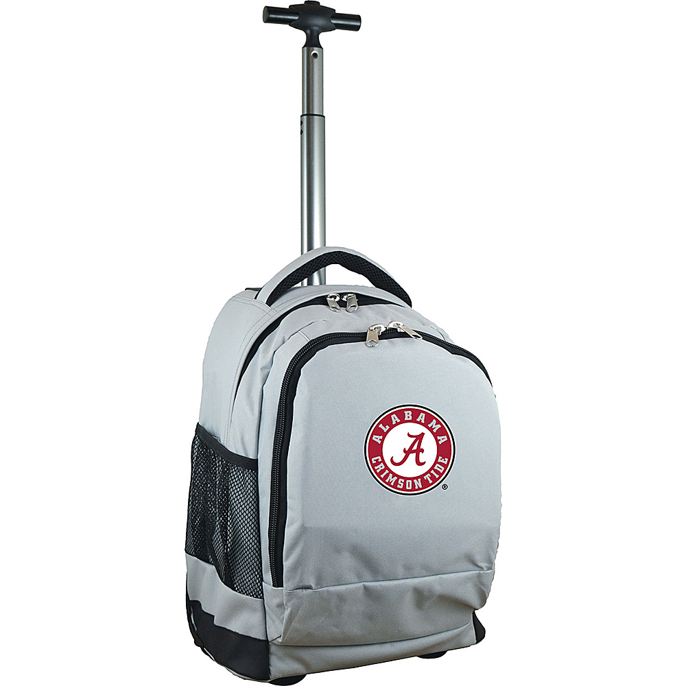 MOJO Denco College NCAA Premium Laptop Rolling Backpack Alabama - MOJO Denco Rolling Backpacks - Backpacks, Rolling Backpacks