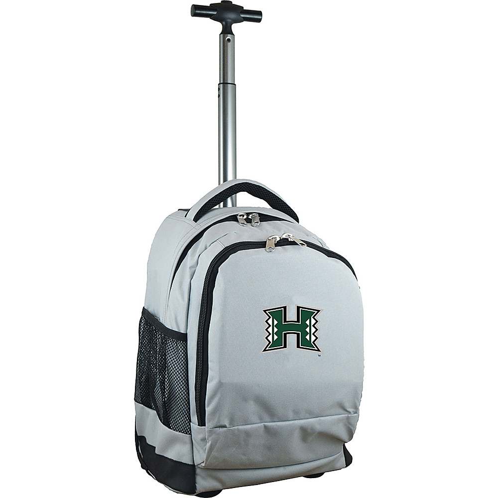 MOJO Denco College NCAA Premium Laptop Rolling Backpack Hawaii - MOJO Denco Rolling Backpacks - Backpacks, Rolling Backpacks