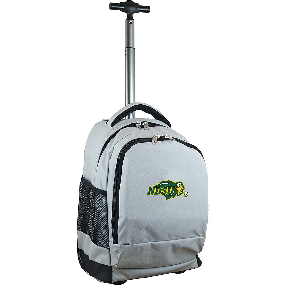MOJO Denco College NCAA Premium Laptop Rolling Backpack North Dakota State - MOJO Denco Rolling Backpacks - Backpacks, Rolling Backpacks
