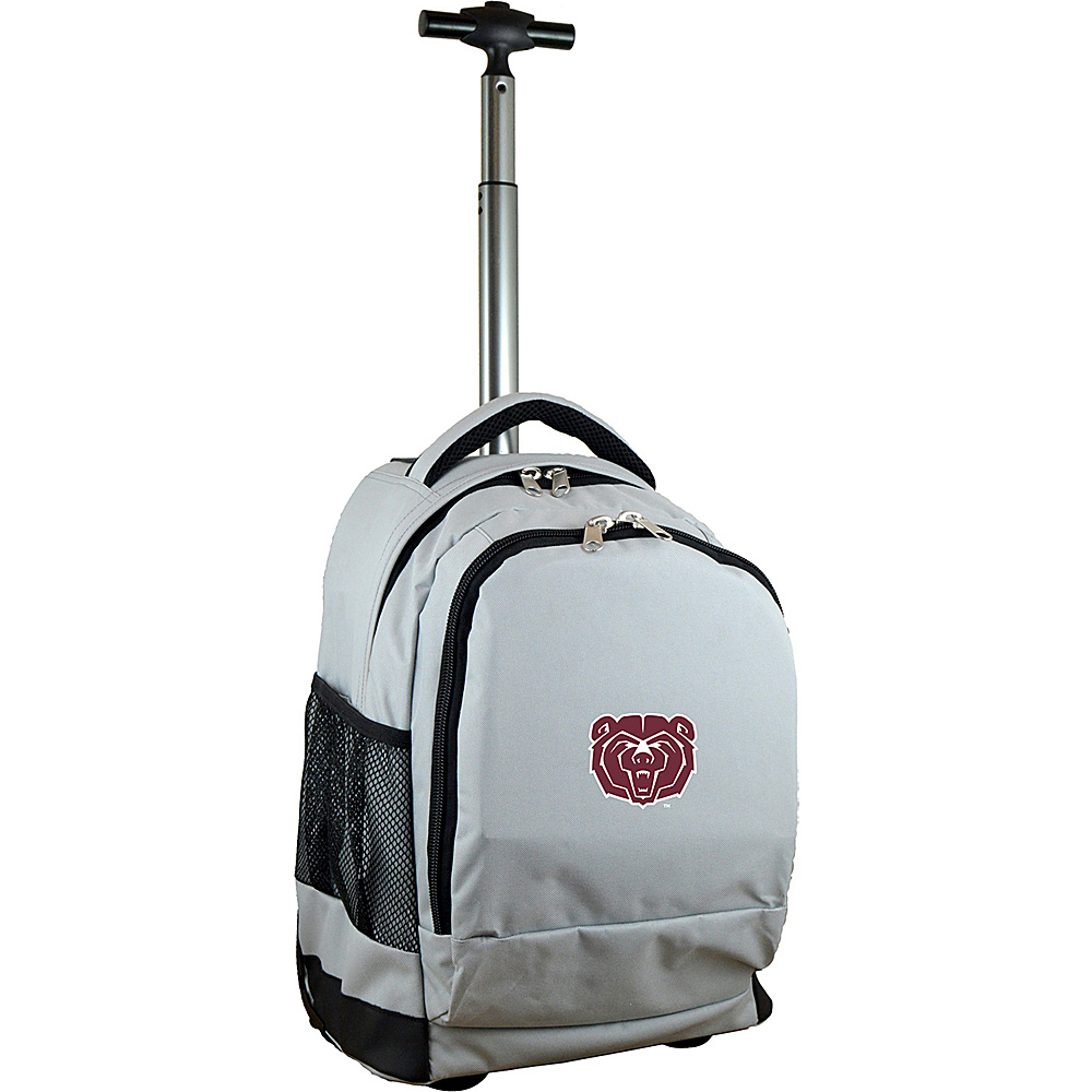MOJO Denco College NCAA Premium Laptop Rolling Backpack Missouri State - MOJO Denco Rolling Backpacks - Backpacks, Rolling Backpacks