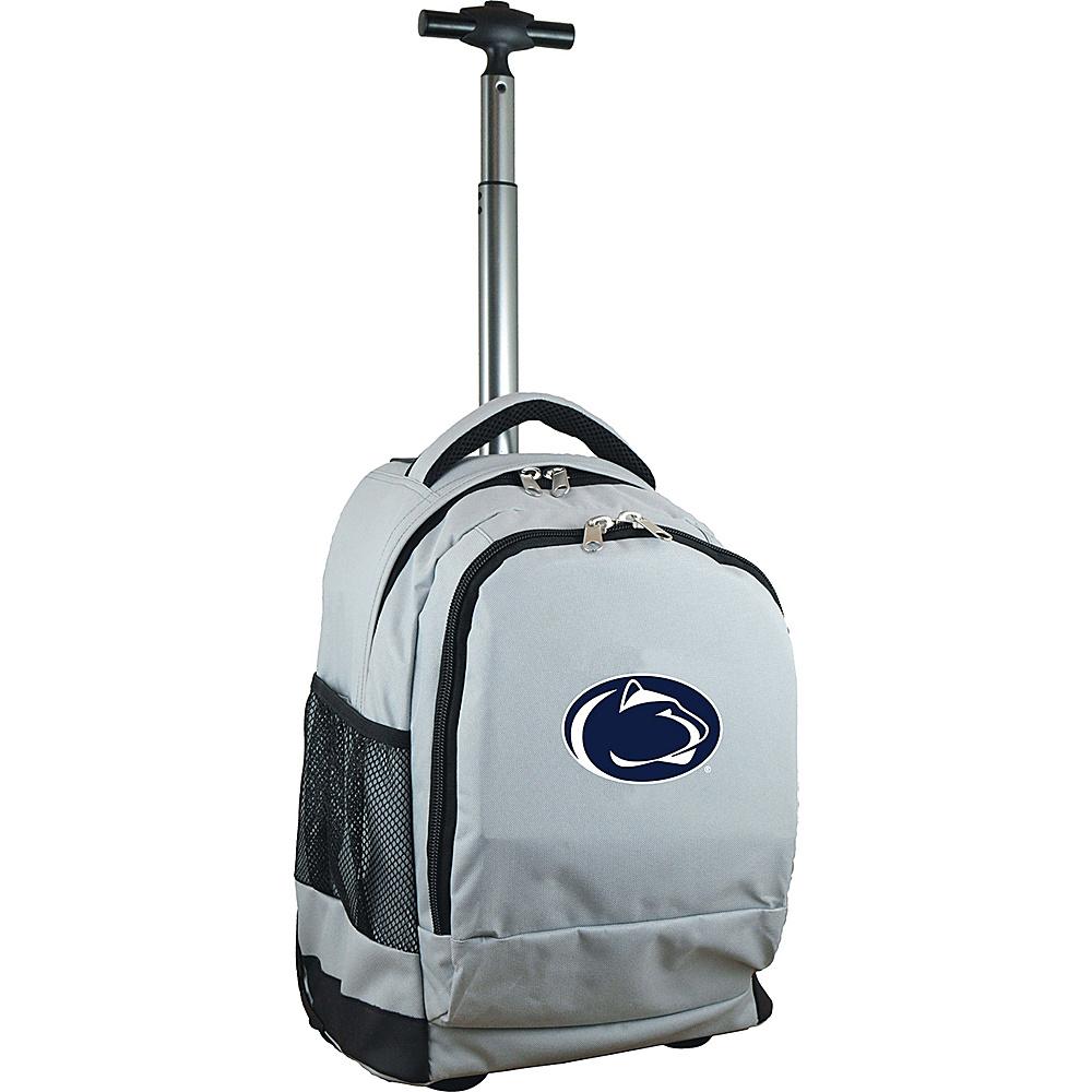 MOJO Denco College NCAA Premium Laptop Rolling Backpack Penn State - MOJO Denco Rolling Backpacks - Backpacks, Rolling Backpacks