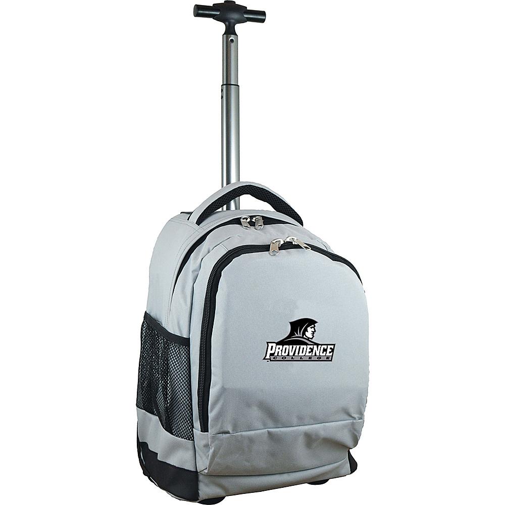 MOJO Denco College NCAA Premium Laptop Rolling Backpack Providence - MOJO Denco Rolling Backpacks - Backpacks, Rolling Backpacks