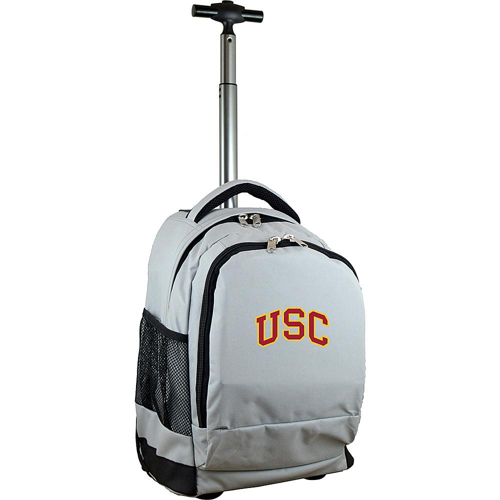 MOJO Denco College NCAA Premium Laptop Rolling Backpack Southern California - MOJO Denco Rolling Backpacks - Backpacks, Rolling Backpacks