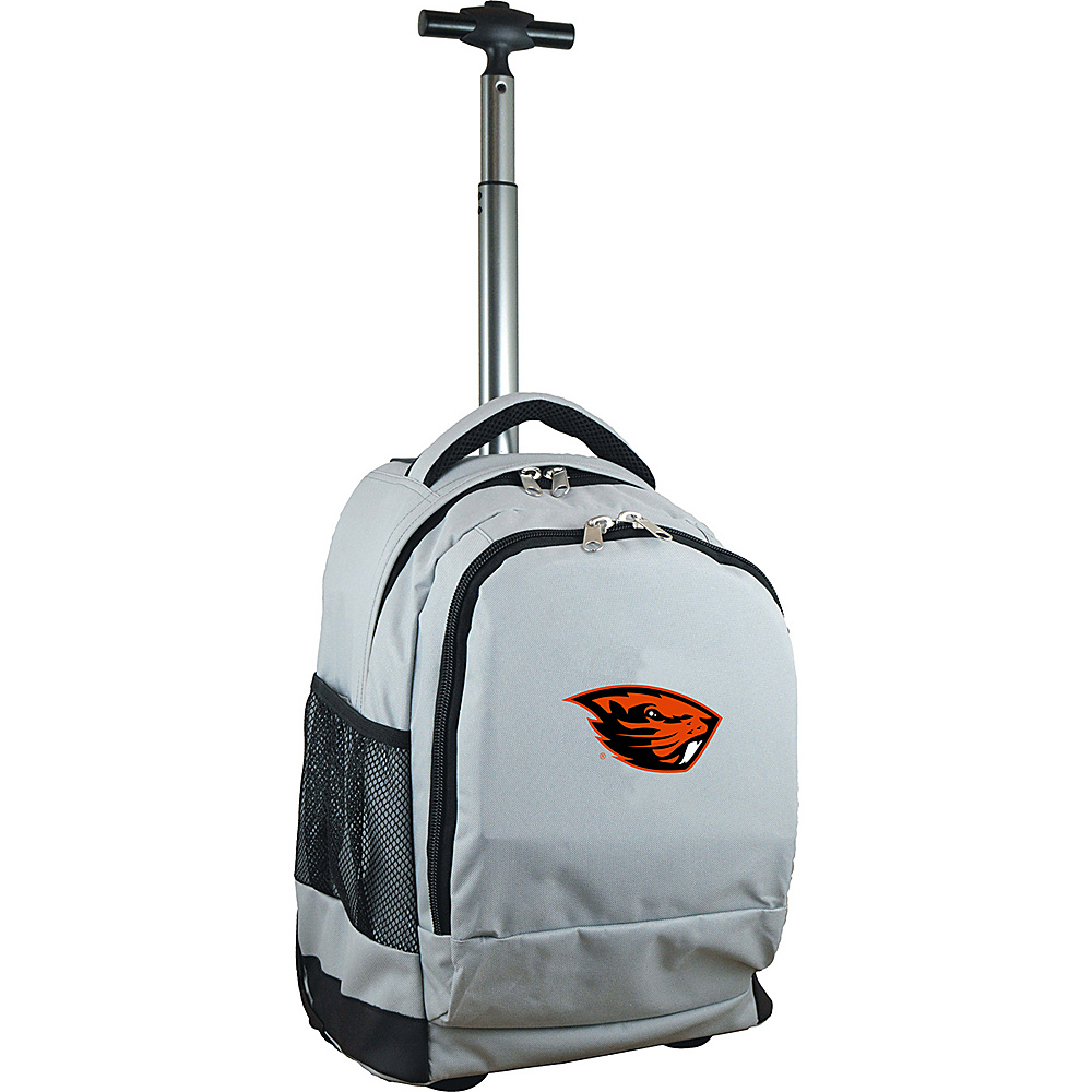 MOJO Denco College NCAA Premium Laptop Rolling Backpack Oregon State - MOJO Denco Rolling Backpacks - Backpacks, Rolling Backpacks