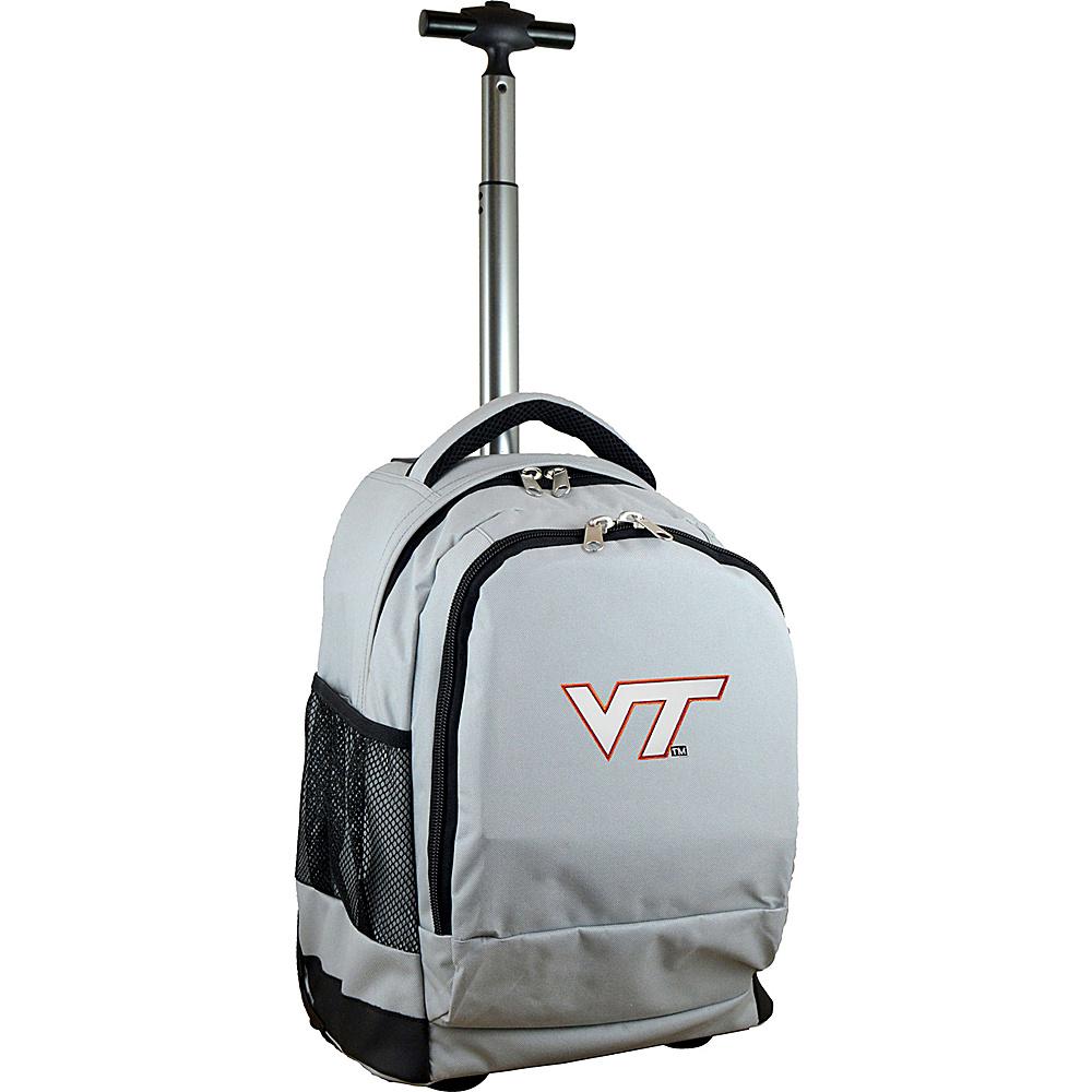MOJO Denco College NCAA Premium Laptop Rolling Backpack Virginia Tech - MOJO Denco Rolling Backpacks - Backpacks, Rolling Backpacks