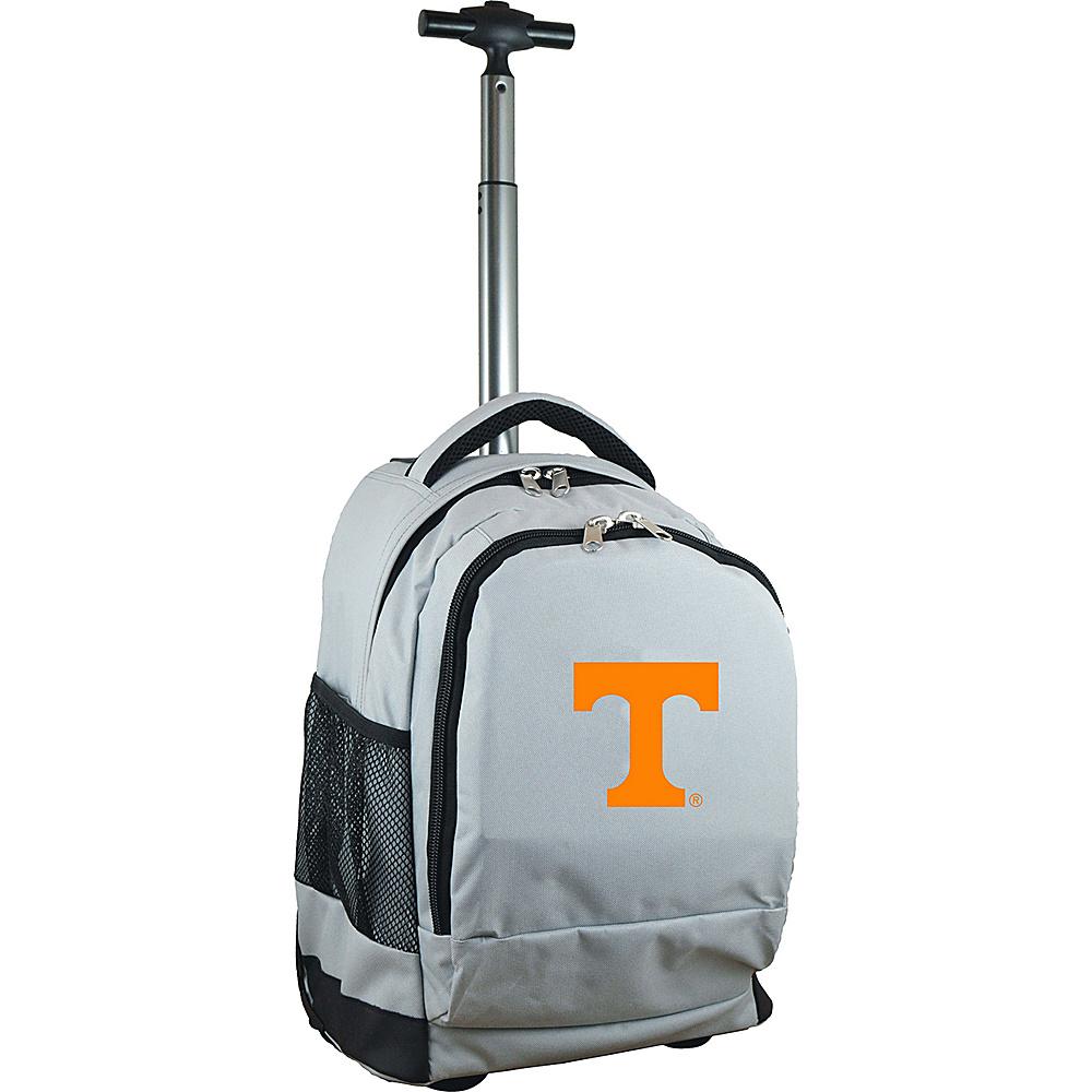 MOJO Denco College NCAA Premium Laptop Rolling Backpack Tennessee - MOJO Denco Rolling Backpacks - Backpacks, Rolling Backpacks