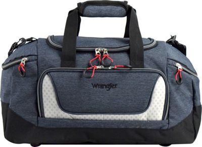 Wrangler 20 inch Multi-Pocket Duffel Navy - Wrangler Travel Duffels