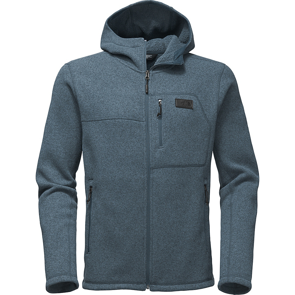 The North Face Mens Gordon Lyons Hoodie XXL - Conquer Blue Heather - The North Face Mens Apparel - Apparel & Footwear, Men's Apparel