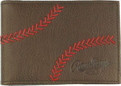 Rawlings Home Run Front Pocket Glove Brown - Rawlings Men's Wallets