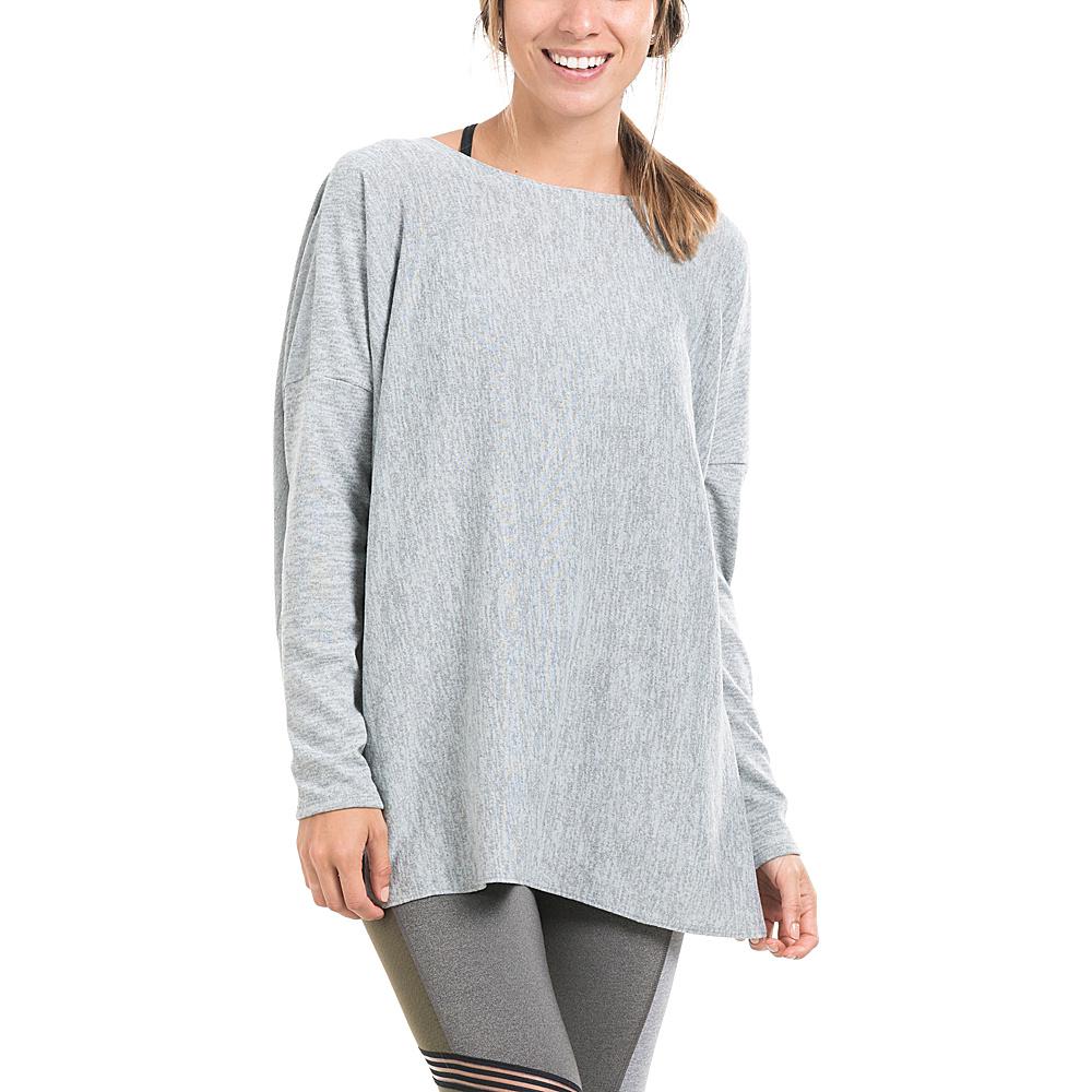 Lole Mel Top S - Dark Grey Heather - Lole Womens Apparel - Apparel & Footwear, Women's Apparel