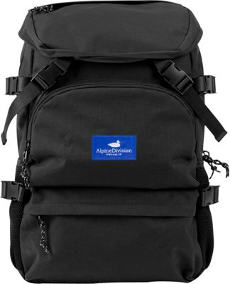 Alpine Division Timberline Laptop Backpack Black - Alpine Division Business & Laptop Backpacks