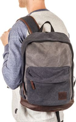 PX Blake Laptop Backpack Black - PX Business & Laptop Backpacks