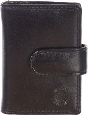 Club Rochelier Jumbo Card Holder Black - Club Rochelier Women's Wallets