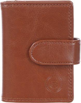 Club Rochelier Jumbo Card Holder Cognac - Club Rochelier Women's Wallets