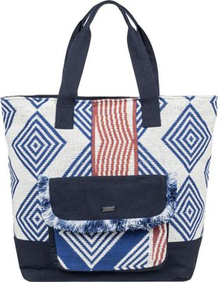 Roxy Heart The Sea Weekend Tote Clematis Blue - Roxy Fabric Handbags