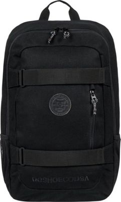 DC Shoes Men's Clocked Canvas 18L Medium Laptop Skatepack Black - DC Shoes Laptop Backpacks