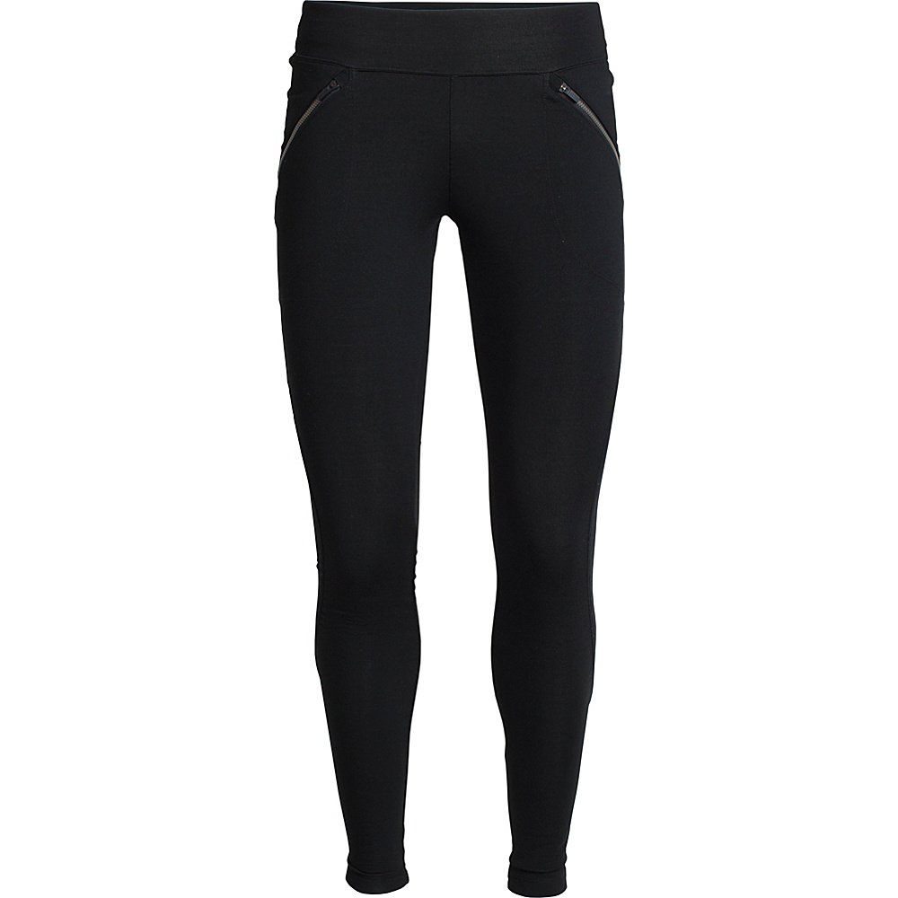 Icebreaker Womens Metro Pants L - Black - Icebreaker Womens Apparel - Apparel & Footwear, Women's Apparel