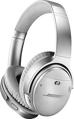 Bose QuietComfort 35 Wireless Headphones II Silver - Bose Headphones & Speakers