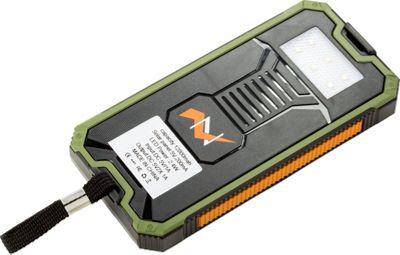 Zunammy 12000 mAh Solar Power Bank Green - Zunammy Portable Batteries & Chargers