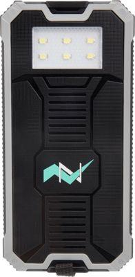 Zunammy 12000 mAh Solar Power Bank Grey - Zunammy Portable Batteries & Chargers