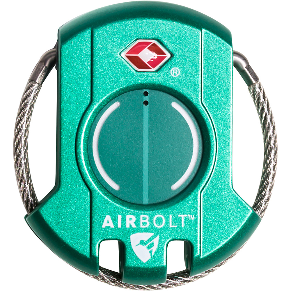 Image of AirBolt: The Truly Smart Travel Lock The Truly Smart Travel Lock Gen 2 Amazon Green - AirBolt: The Truly Smart Travel Lock Luggage Accessories