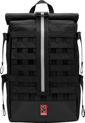 Chrome Industries Barrage Cargo Laptop Backpack Black/Black - Chrome Industries Business & Laptop Backpacks